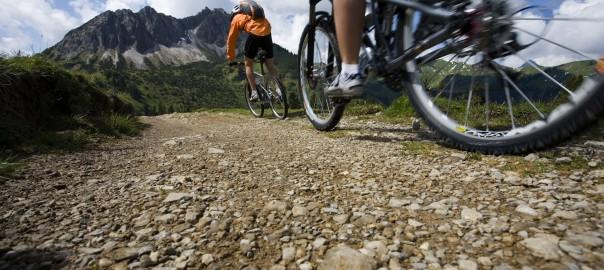 Joggen oder Radfahren