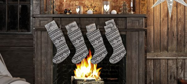 Socken zu Weihnachten