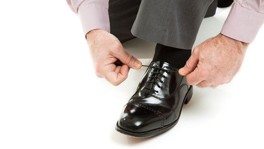 Socken Knigge gegen modische Fehltritte