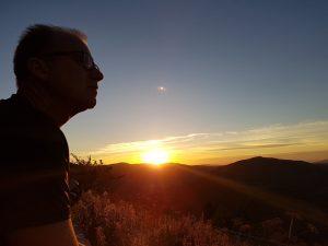 Sonnenaufgang in Galizien