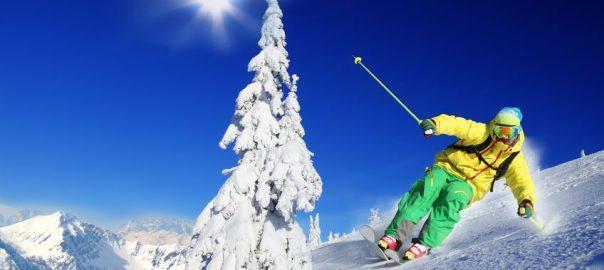 Skiunterwäsche hält warm und trocken.