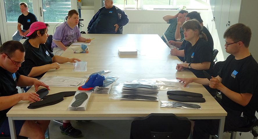 Erste Behindertenwerkstatt in Buxtehude