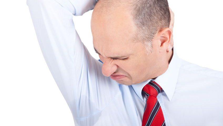 Wenn Schweißgeruch zum peinlichen Problem wird