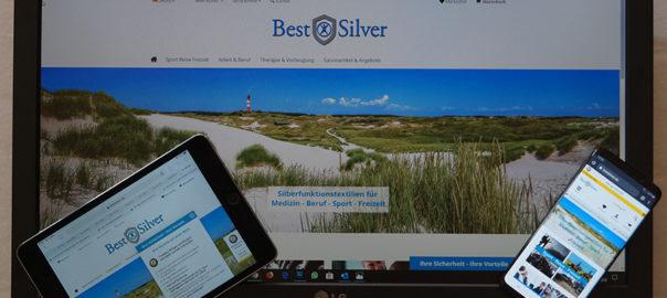 Der neue BestSilver Onlineshop geht an den Start