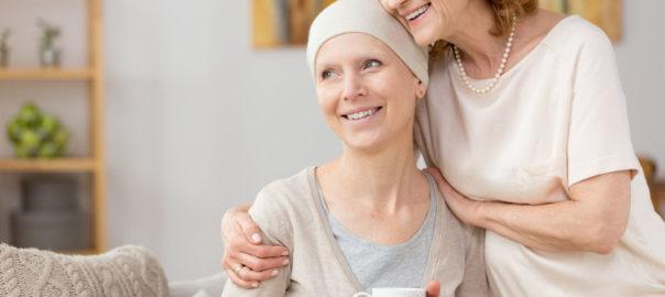 Chemo Mütze nach Haarausfall bei der Krebstherapie